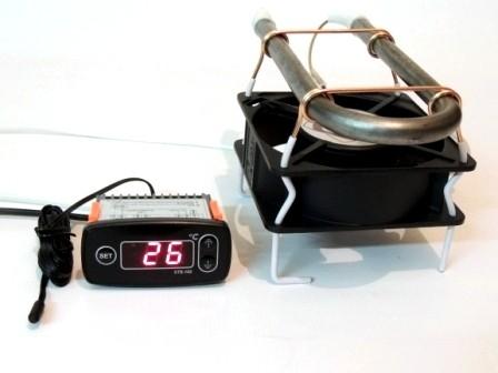 Терморегулятор СТЕ-102 с тепловентилятором 250 Вт