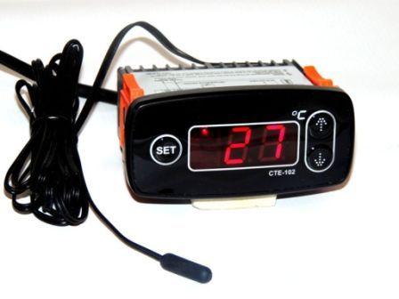 Терморегулятор цифровой СТЕ-102 для омшаника, погреба, теплицы