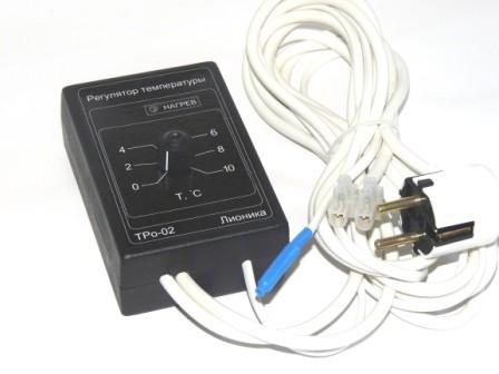 ТерморегуляторТРо-02 дляпогреба, омшаника, теплицы