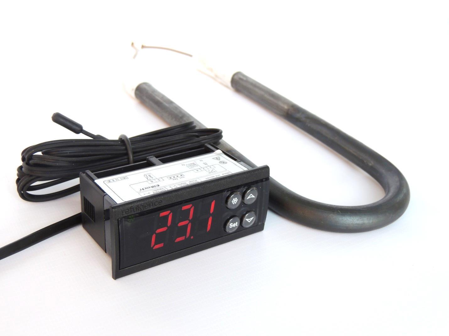 Терморегулятор ECS-961neo с нагревателем -ТЭНом (термостат) для отопления помещения