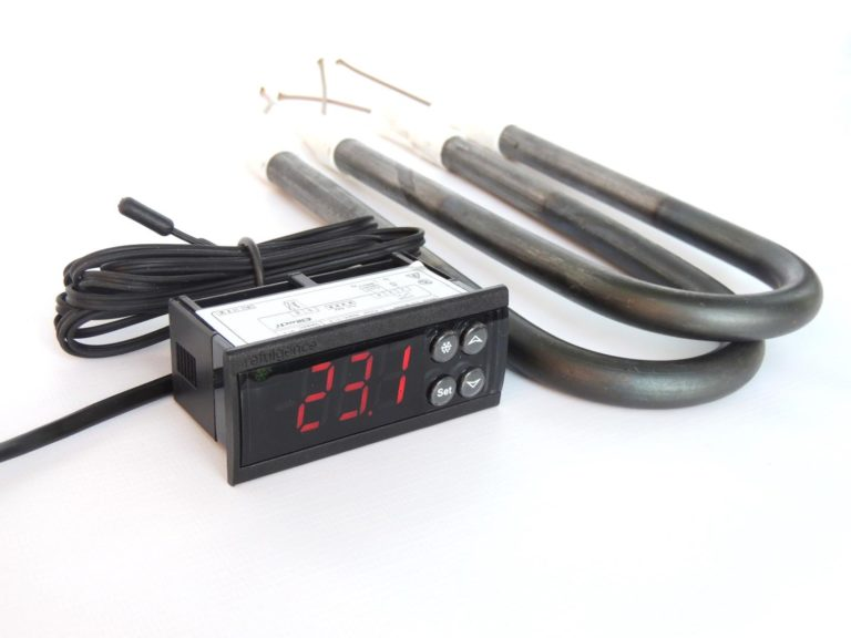 терморегулятор ecs-961neo с 2-мя ТЭНами