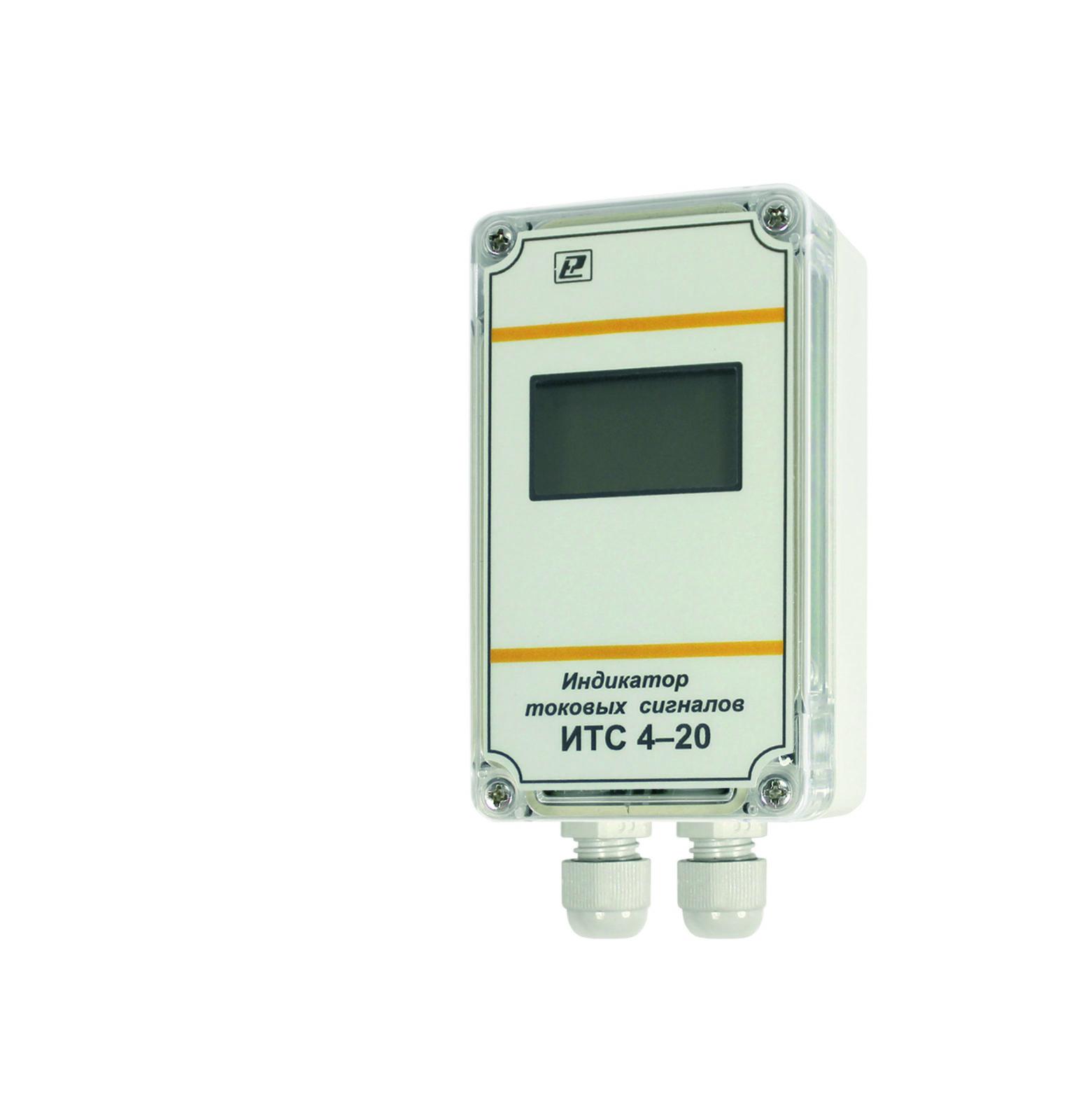 Индикатор сигналов тока ИТС 4-20 для датчиков с токовым выходом 4-20 мА