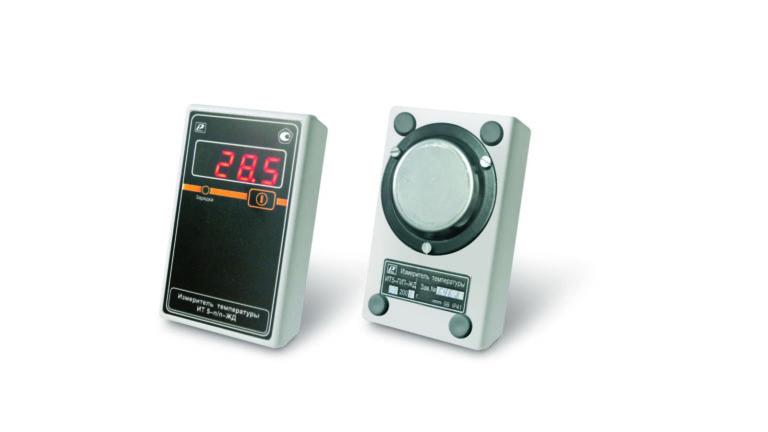 Измеритель температуры поверхности стальных изделий ИТ-5-ПП-ЖД