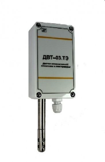 Датчик относительной влажности и температуры воздуха ДВТ-03.ТЭН1