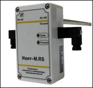Измеритель влажности и температуры Ивит-RS-К1