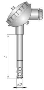 Датчик влажности и температуры в корпусе Кл1-1