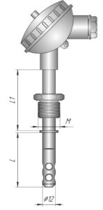Датчик влажности и температуры в корпусе Кл1-2