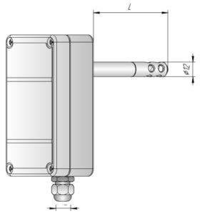 Датчик влажности и температуры в корпусе К1