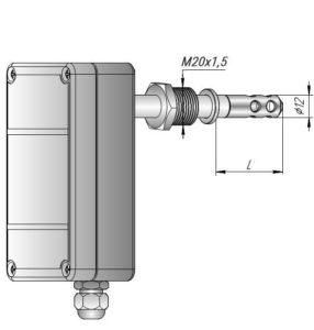 Датчик влажности и температуры в корпусе К2