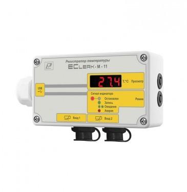 Терморегистратор EClerk-M-11-2Pt-HP-a-1 для рефрижераторов
